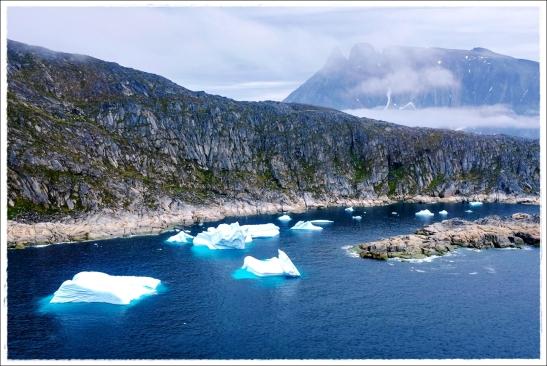 Berge aus Eis